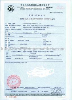 Preferential Fumigation Certificate Service In Shenzhen