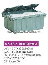 food grade plastic crate A5332