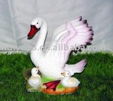 cisne de cerámica