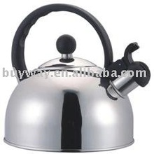Stainless Steel Whistling Kettle With Bakelite Handle