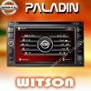 WITSON NISSAN QASHQAI/XTRAIL/Tiida/Bluebird/PALADIN Car Audio GPS System