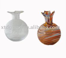 Art glass ball shape vase