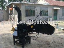 PTO shaft wood chipper, 3point hitch, hydraulic feeding rolls