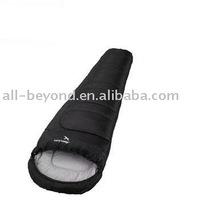 camping hollow fibre mummy sleeping bag