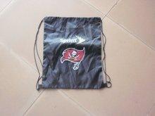 2012 hotsale logo printed fashionable drawstring bag