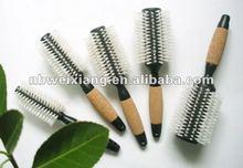 plastic round hairbrush