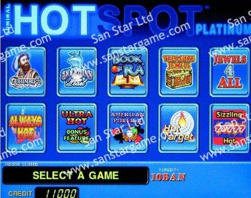Hot Spot Casino Game PCB/Game Board for Casino Machine/Slot Machine