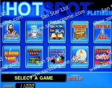 Hot Spot Casino Game PCB/Game Board for Casino Machine/Slot Machine