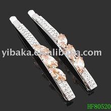 slim barrette types delicate hair stick for ladies HF80520