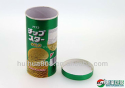 elegant paper tube for food