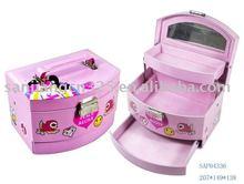 lovely cosmetic case gift box for children