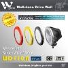 Borosilicate Hardened Glass Lens 12/24 V DC HID work light for heavy duty IP 68