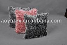 High quality fake fur cushion