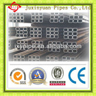 MS seamless /welded square steel pipe Q235B from China