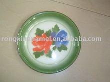 Enamel round trays,enamelware
