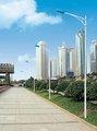 carretera de acero / postes de iluminación de calle