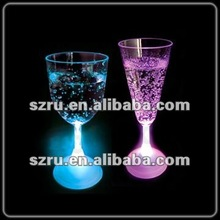 Multicolor led flashing goblet with custom message