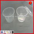 transparenten plastikschale
