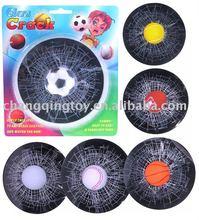 Sportball glass sticker(small),joking toys,shocking toys