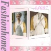 Classical bolero jacket shawl with artificial fur ivory AJ007