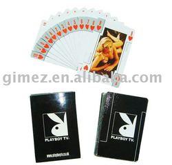 laminated playing cards