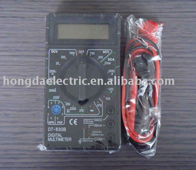 hot sell DT830B digital multimeter