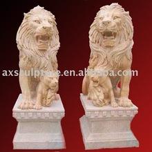 marble stone animal lion statue sculpture