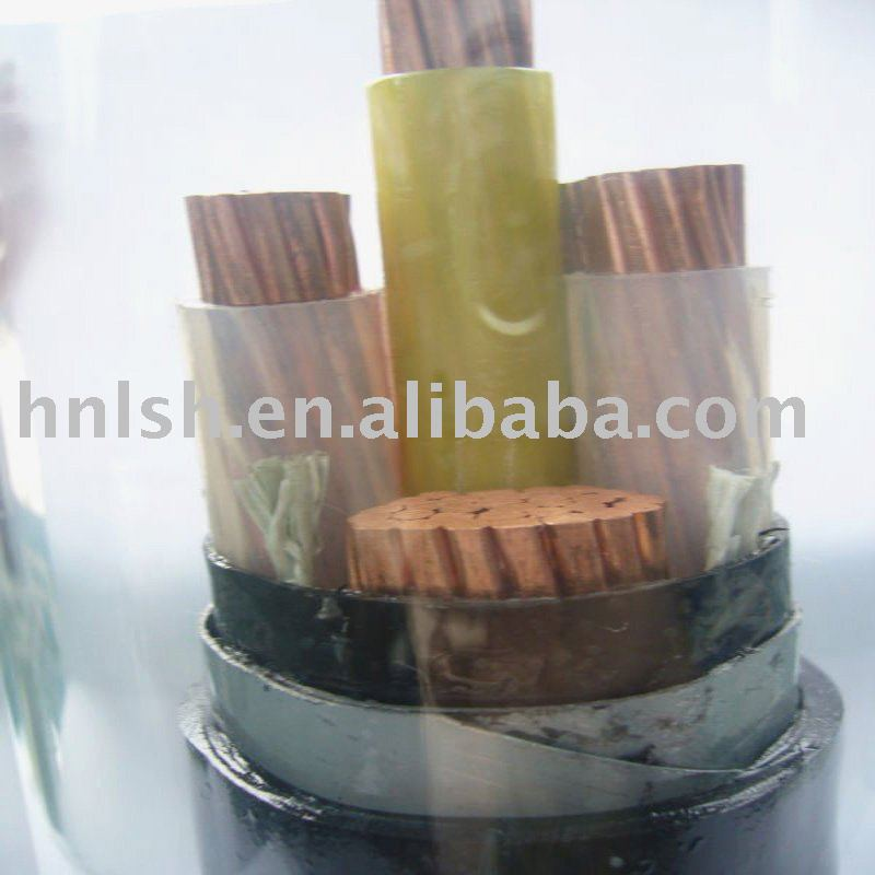 Copper Conductor XLPE/PVC Insulation Low Voltage Cable
