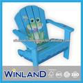 kinder aus holz frog design adirondack stuhl