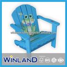 Kids Wooden Frog Design Adirondack Chair