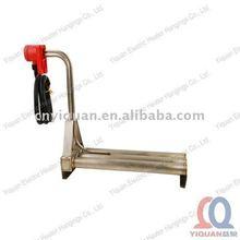L shaped metal tube heaters