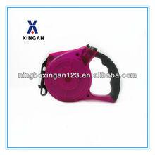 Pink Color Fashion Retractable Dog Pet Leash Collar Supply