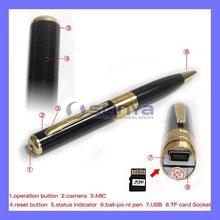 2G 4G 8G 16G HD Audio Video Dual Channel HD Pen DVR Camcorder