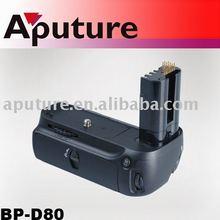BP-D80 Aputure battery power grip for Nikon D80 D90