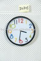 plastic fashion art wall clocks