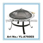 Charcoal bbq fire pit for garden