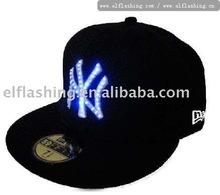 led caps / el wire cap / led hats
