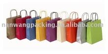 Handle gule clothes paper bag
