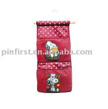 Lot of 100 Cotton Fabric Multi-Pocket Storage Case New