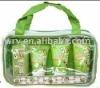 4PCS KEROPPI BATH SET/ 3 SPA TRAVEL KIT IN PVC BAG