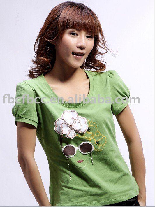 funny-tshirts.com. lady short sleeve funny