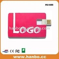 عيد ميلاد سعيد نمط بطاقة محرك فلاش USB، 8GB بطاقة نمط فلاش USB
