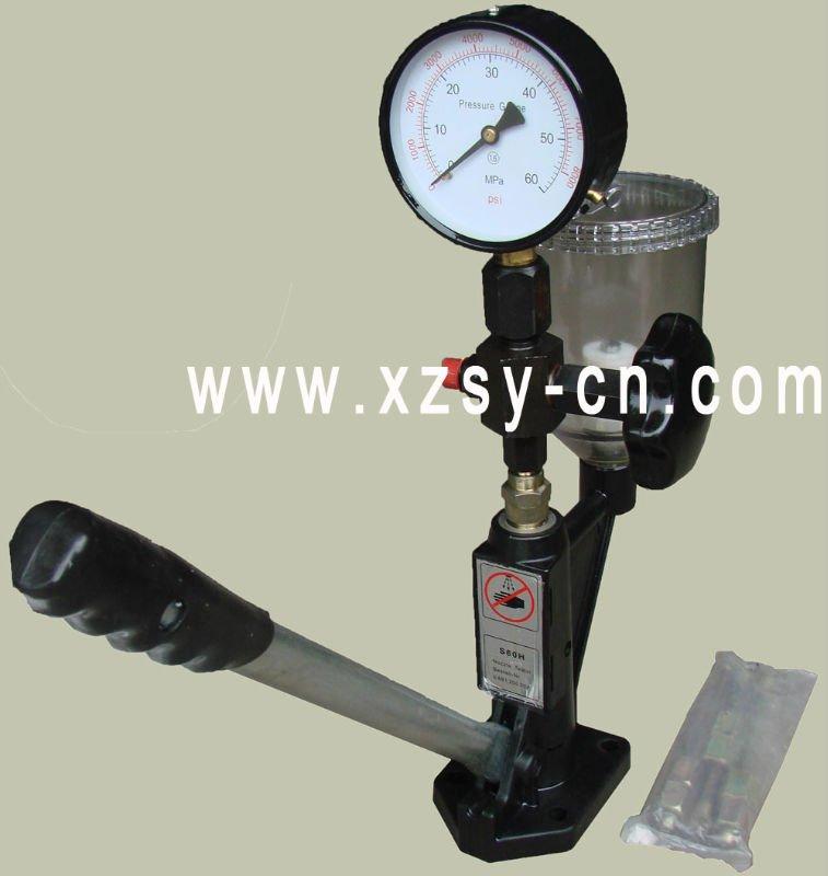 s60h diesel injecteur d 39 injection de carburant testeur de pression equipements d 39 essai id du. Black Bedroom Furniture Sets. Home Design Ideas
