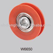nylon bearing sliding door roller
