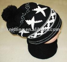 knited fashion winter hat