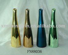 High electroplate ceramic art flower vase for home decoration or gifts