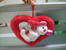 Stuffed plush anmial toy,koala hanging decoration .