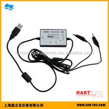 Hart protocol communicator with usb port