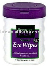 natural eye wipes for pets