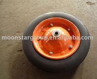 400-8 solid rubber wheel wheelbarrow wheel